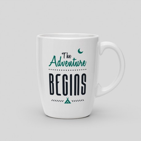 Mug The adventure begins
